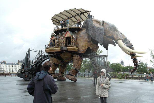 Un sueño de locos. Les Machines de l'ile. Nantes.