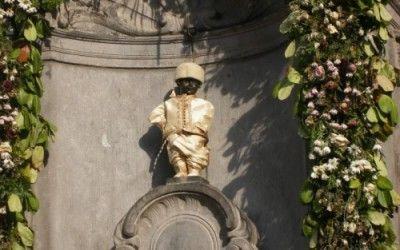 """Manneken-pis o el """"niño meón"""" de Bruselas"""