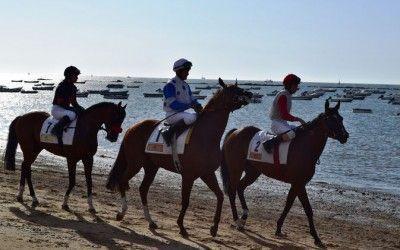 Carreras de caballos en Sanlúcar de barrameda