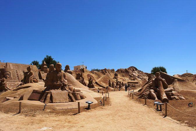 Festival de esculturas de arena