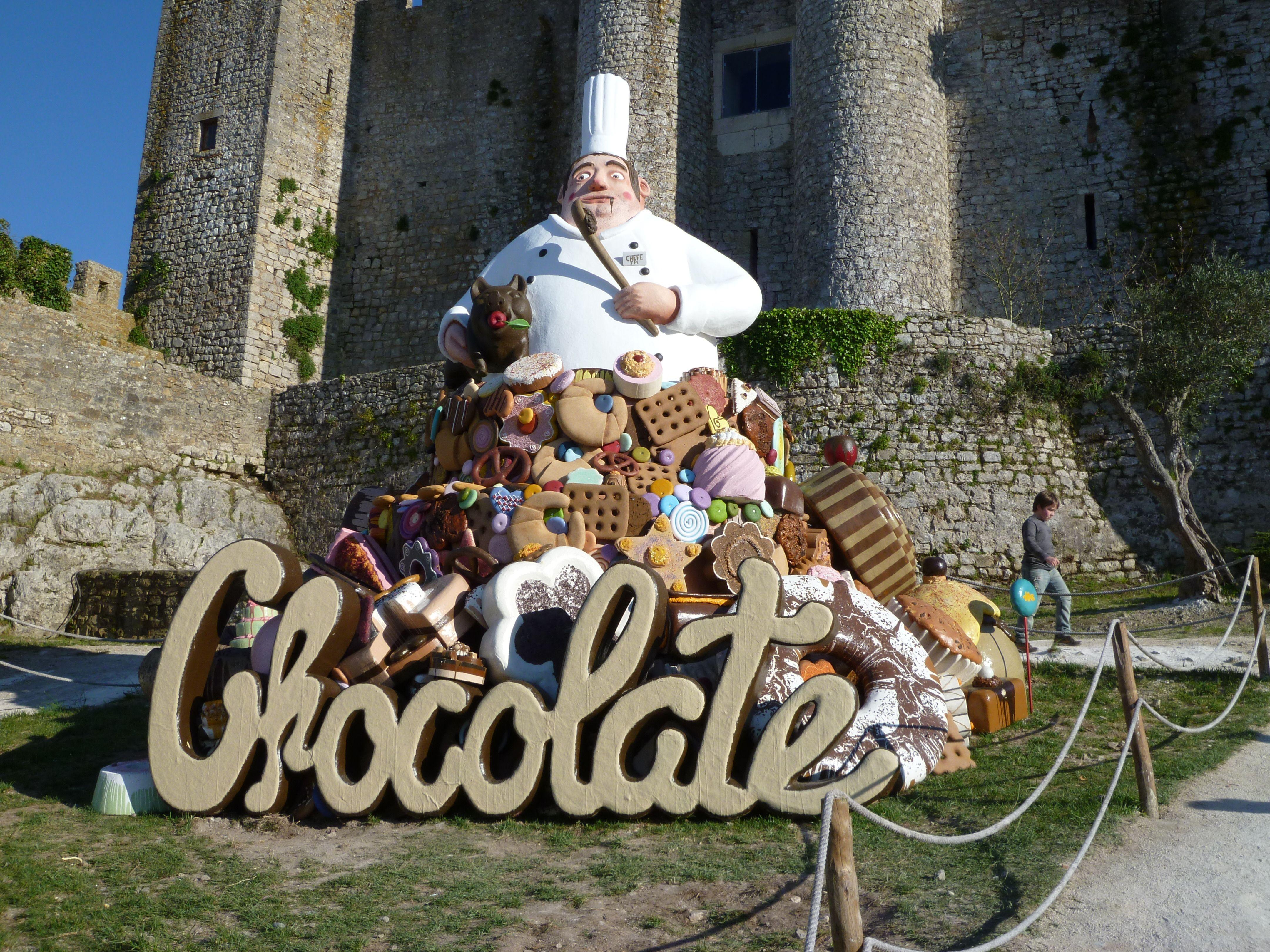 """Óbidos. Un """"finde"""" de Chocolate y Casas de muñecas"""