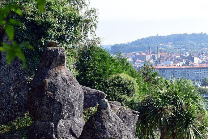 Betanzos y el Jardín del Pasatiempo. Galicia