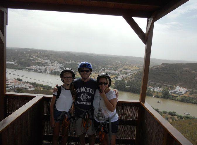 Volar sobre el Guadiana. Sanlúcar de Guadiana-Alcoutim