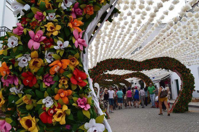 """Campo Maior. El jardín efímero en la """"Festa do povo"""""""