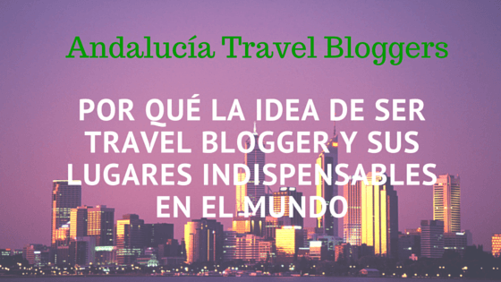 Entrevista para Andalucia Travel Bloggers