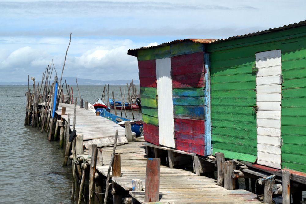 El Puerto Palafítico de Carrasqueira.