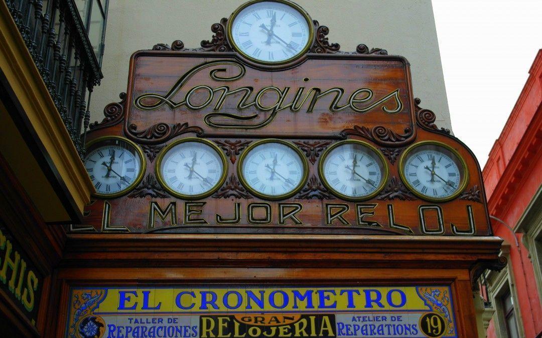 El Cronómetro,un siglo de relojes de marca.