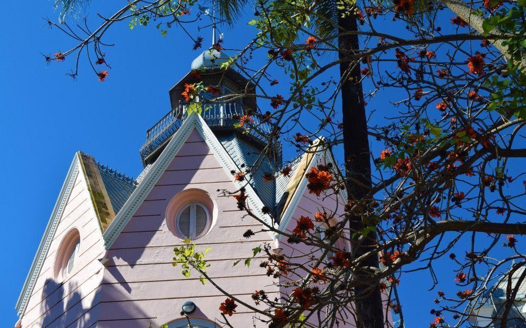 La Casa Rosa y el Jardin Romántico de Villa Eugenia
