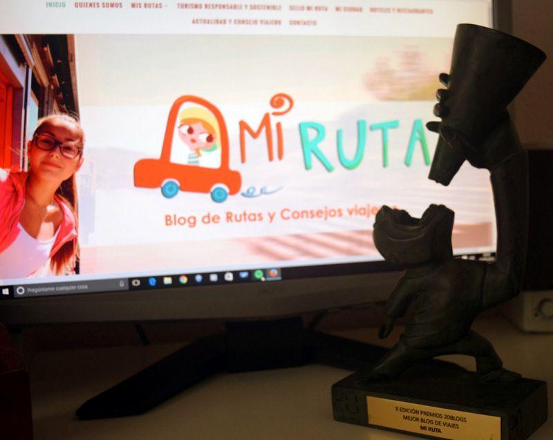 Mi ruta mejor Blog de viajes Premios 20Blogs X Edición