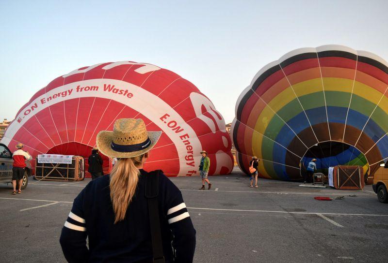 paseo en globo