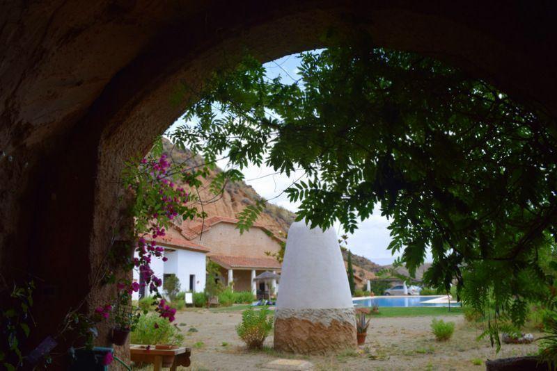 casas cuevas guadix