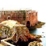 Reserva natural de las Islas Berlanga,pinguinos y piratas en Portugal