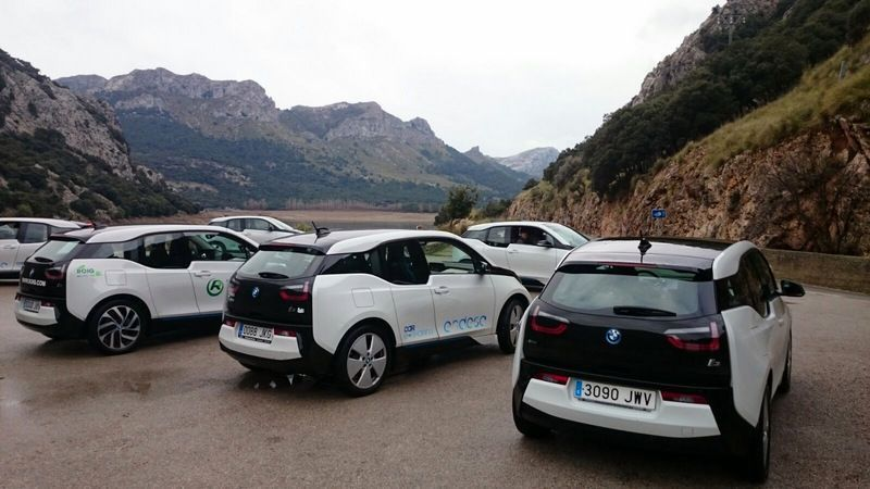Recorrer Mallorca en coche eléctrico