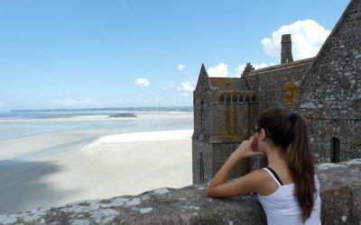 El Mont Saint Michel y las grandes mareas