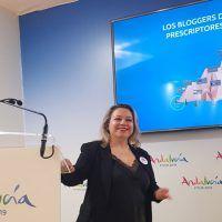 Conferencia en FITUR 2019, pabellón de Turismo Andaluz