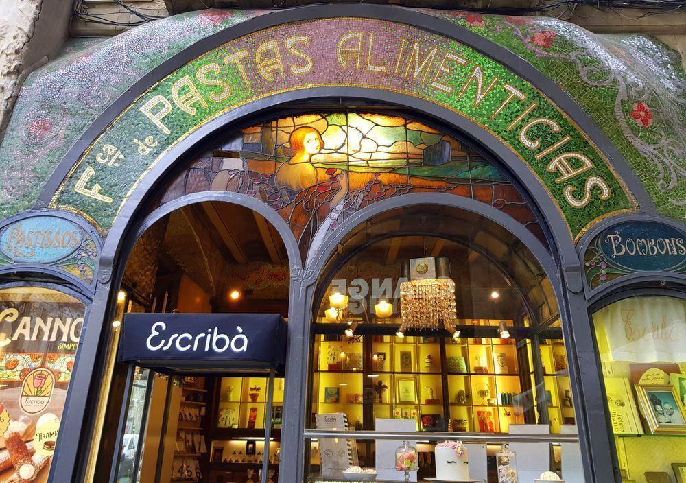 tiendas, cafés y restaurantes modernistas de Barcelona (11)