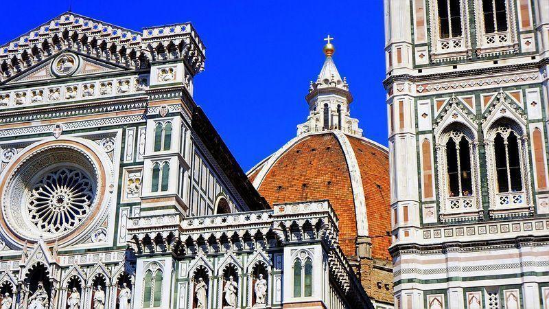 La Catedral de Florencia, guía para su visita:el Campanario, el Baptisterio y el Museo