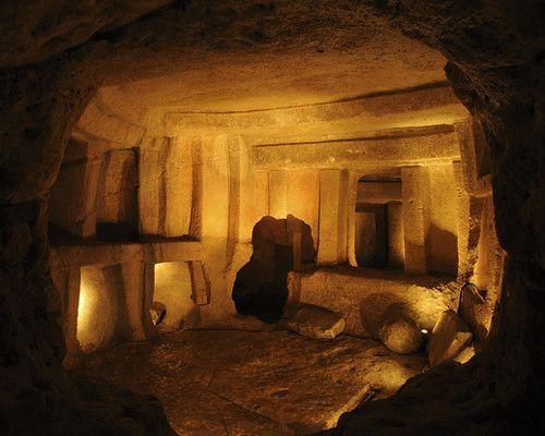 El Hipogeo de HalSaflieni y los templos megalíticos de Malta