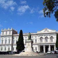 El Palacio Nacional de Ajuda, la residencia de los últimos reyes de Portugal en Lisboa