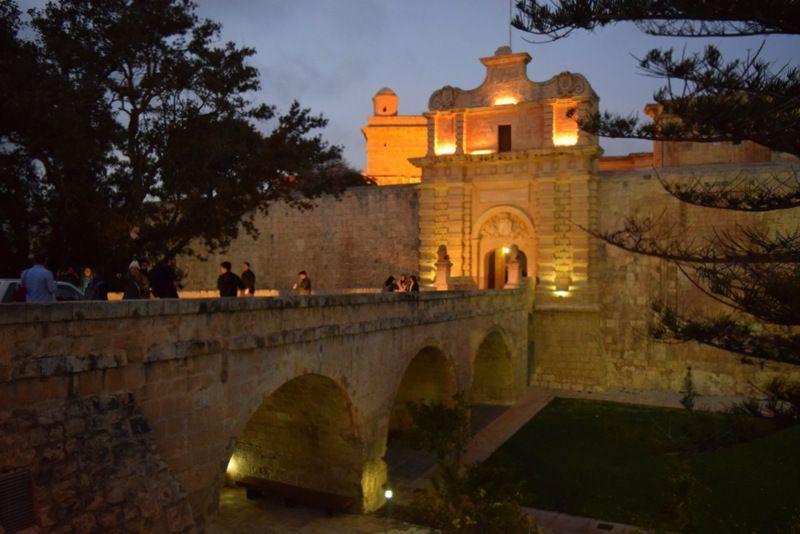 Las catacumbas de Rabat y la ciudadela de Medina en Malta