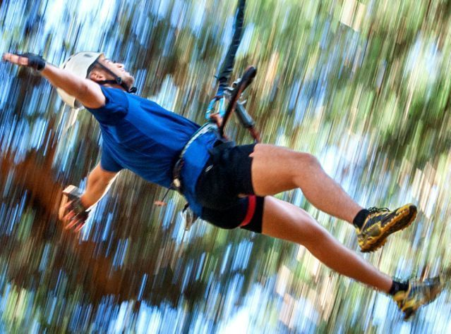 Los parques de aventura un lugar ideal para disfrutar en familia