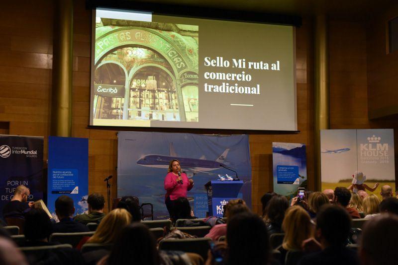 El Sello Mi ruta se presentó en Granada en el congreso de KLM vuela sostenible