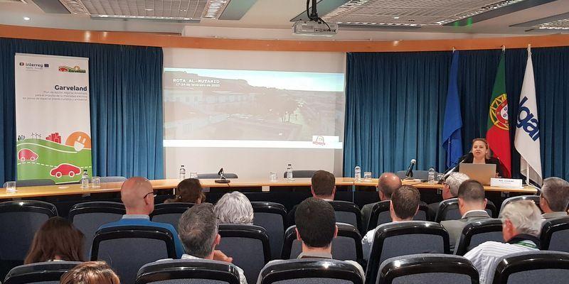 El proyecto eRutaAlgarve en la jornada final del proyecto Garveland en Faro, Portugal