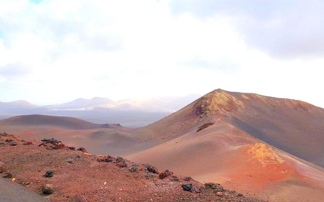 Lanzarote en coche eléctrico: Primera etapa el Parque natural de Timanfaya