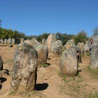 El cromlech de Almendres, uno de los monumentos megalíticos más importantes de Europa