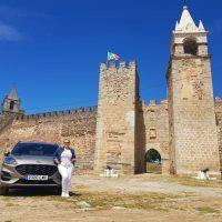 Ruta en coche eléctrico por el centro y alto Alentejo primera etapa, el embalse de Alqueva, Mourao y Monsaraz