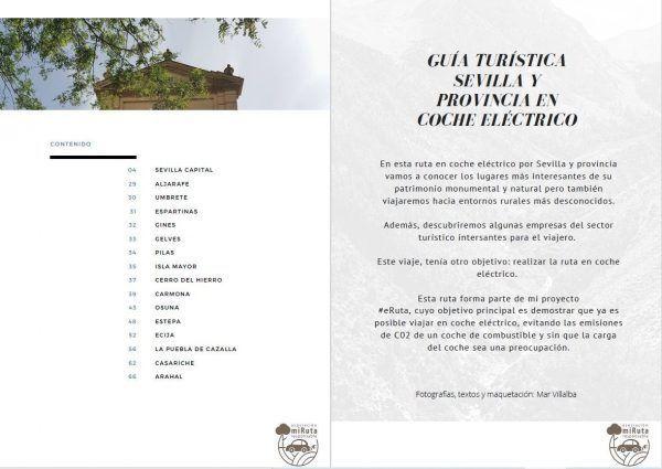 Guía Sevilla y provincia en coche eléctrico