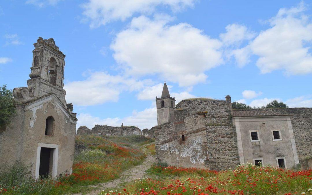 Juromenha,las ruinas de la ciudad fortificada